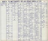 Index, Pend Oreille County 1957
